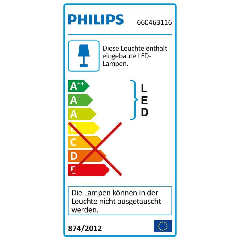 Tischleuchten Philips Myliving Led Tischleuchte Geometry Rot