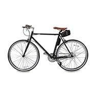 E-Bike Cinline B10, City Fahrrad schwarz m. LCD Display, StVO Konform
