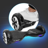 Hoverboard M01, Zweirad Elektro-Scooter mit 2x 250 Watt Motor, Flyblade