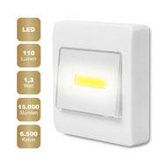COB LED Wandlicht mit Lichtschalter, 110 Lumen Leuchtkraft, 1,3 W Eaxus