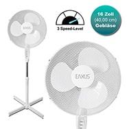 Standventilator mit 40W starker Kühlfunktion u. 3-stufigem Gebläse Eaxus