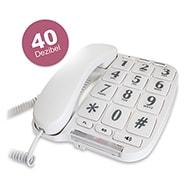 Seniorentelefon mit extra großen Tasten, hohe Lautstärke mit Kabel