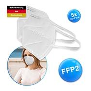 FFP2 Atemschutzmasken zertifiziert 5x 2er Pack, KN95, gegen Viren