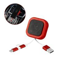 KFZ-Handyhalterung für Lüftungsschlitze, MicroUSB, Lightning und USB-C