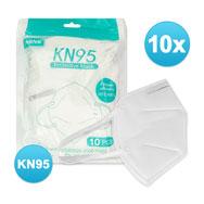 FFP2 Atemmasken 10er Pack, Mundschutz KN95, EN 149:2001+A1 2009, NRNR