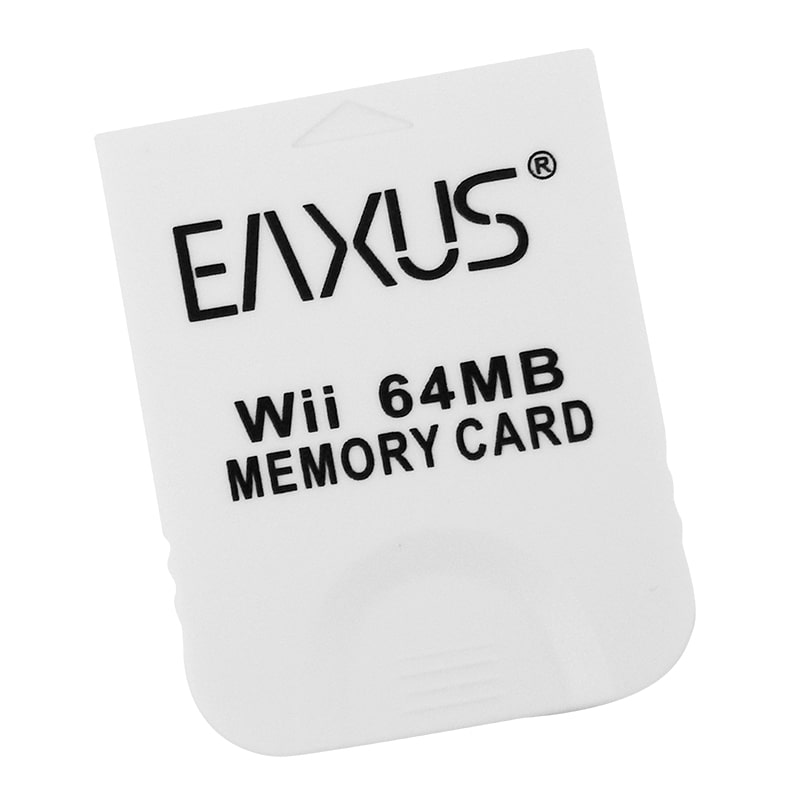 GameCube + Wii 64 MB MEMORY CARD / Speicherkarte, EAXUS