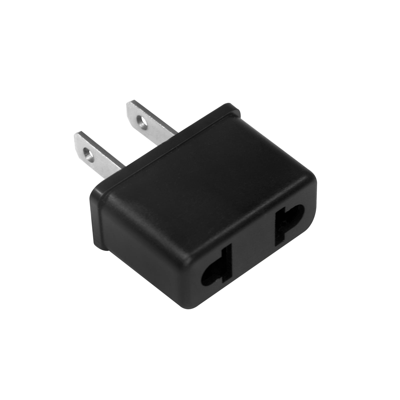 eaxus netzadapter usa us stecker 2 pin f r ger te mit euro stromstecker neu ebay. Black Bedroom Furniture Sets. Home Design Ideas