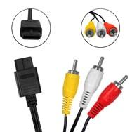 AV / TV Kabel für Super Nintendo, Gamecube, Nintendo 64, 1,75m Eaxus