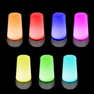 LED Mood Light with Automatic 7 Color Change, RGB Lamp, Eaxus