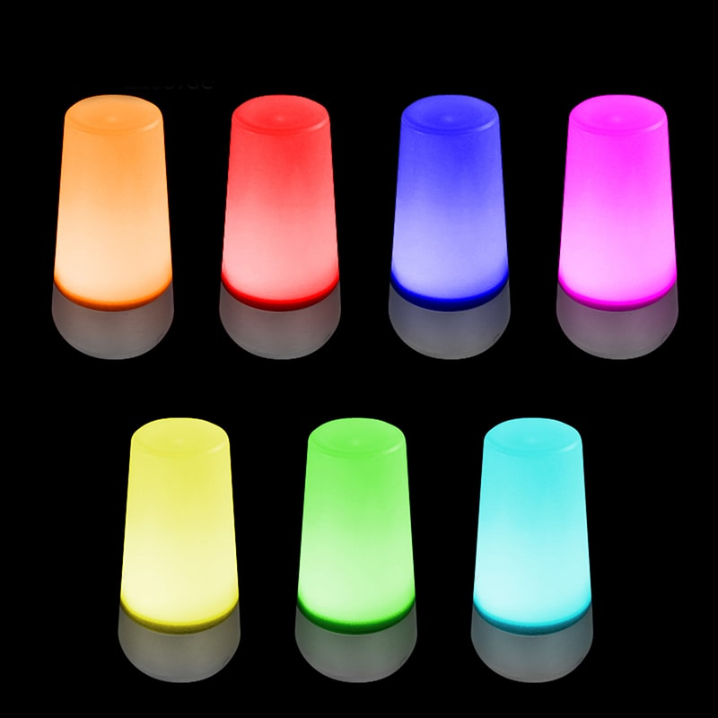 eaxus led lampe stimmungslicht mit farbwechsel 7 farben living colors licht ebay. Black Bedroom Furniture Sets. Home Design Ideas