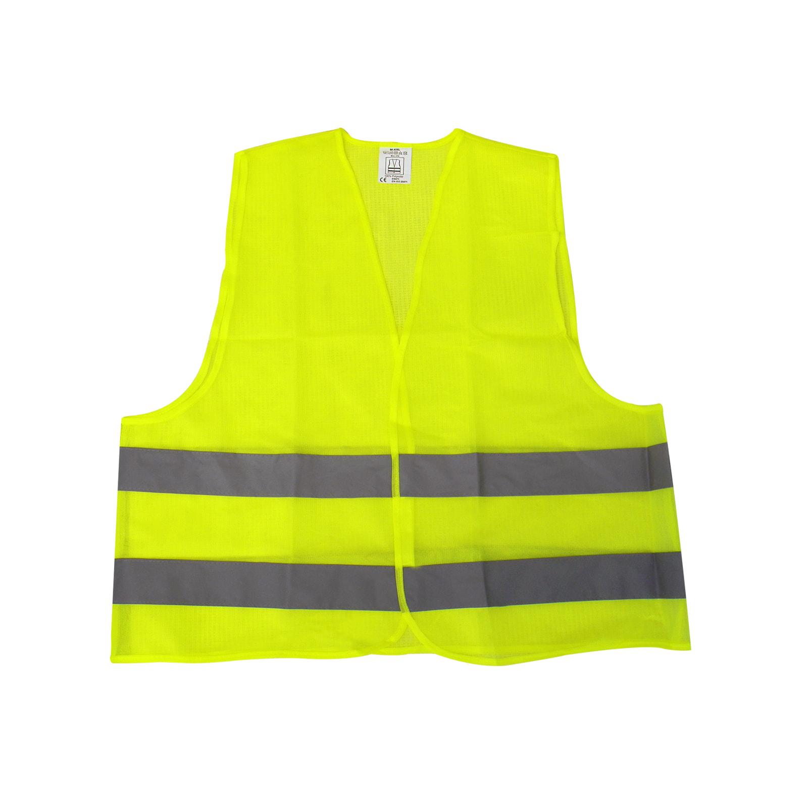 Warnweste reflektierend gelb, Sicherheit / Schutz PKW, LKW, Einheitsgröße, EN471