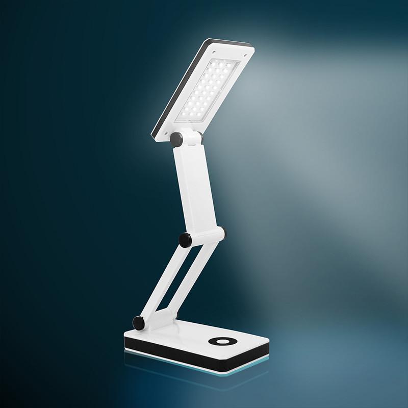 30 led flexibel lampe arbeitslampe leseleuchte hellwei smd b ro leuchte mit usb ebay. Black Bedroom Furniture Sets. Home Design Ideas