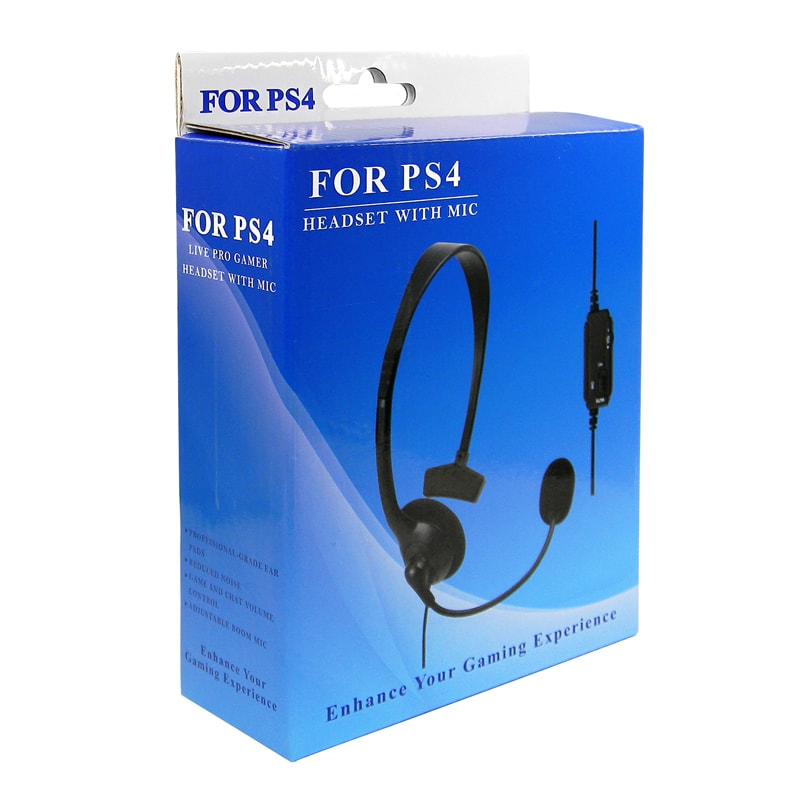 ps4 gaming headset kopfh rer mit mikrofon f r playstation. Black Bedroom Furniture Sets. Home Design Ideas