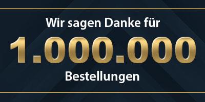 1 Million Bestellungen